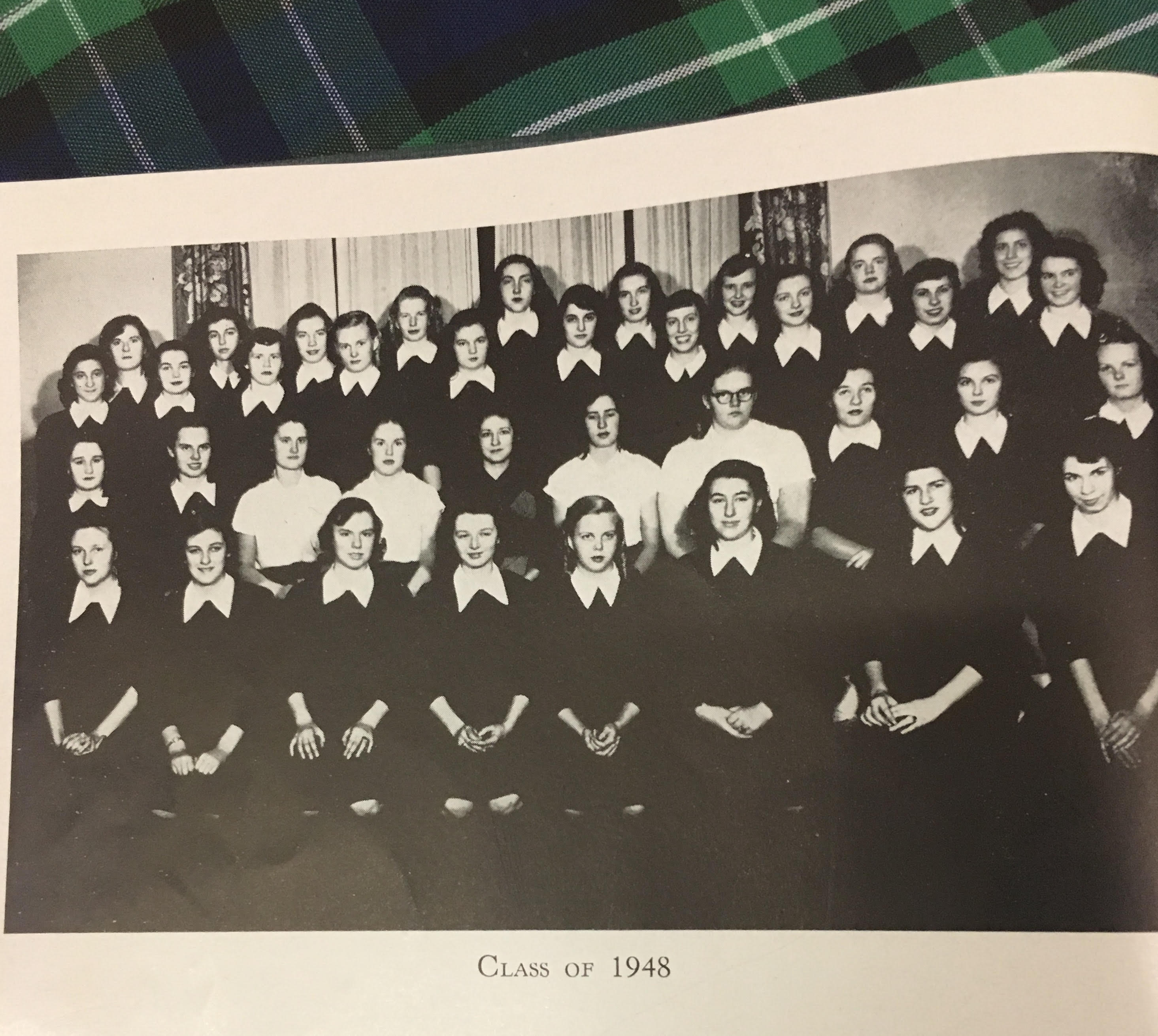 TBT: Class of 1948's Poem, From 'Bloomas' to Diplomas
