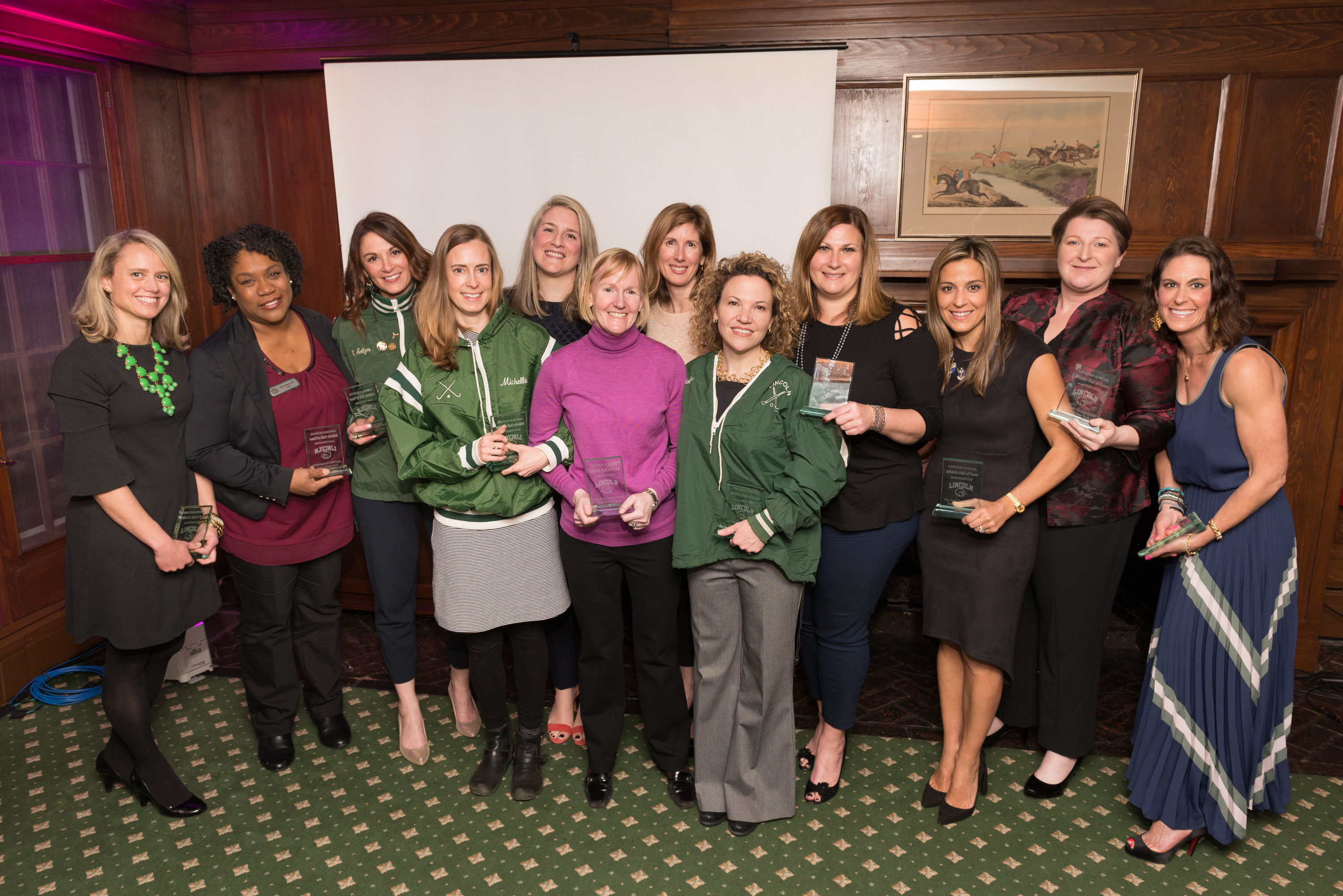 #LikeaGirl Alumnae and Supporters Inducted into the Lincoln School Athletic Hall of Fame