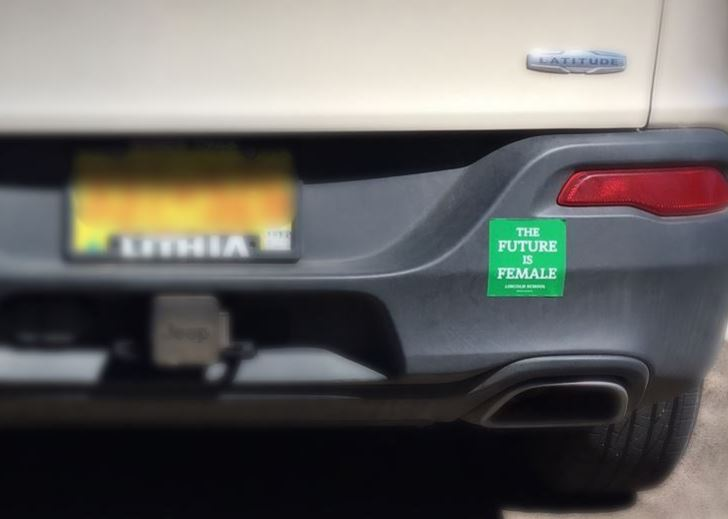 Sticker Shock: Lincoln Bumper Sticker Spotted in New Mexico!