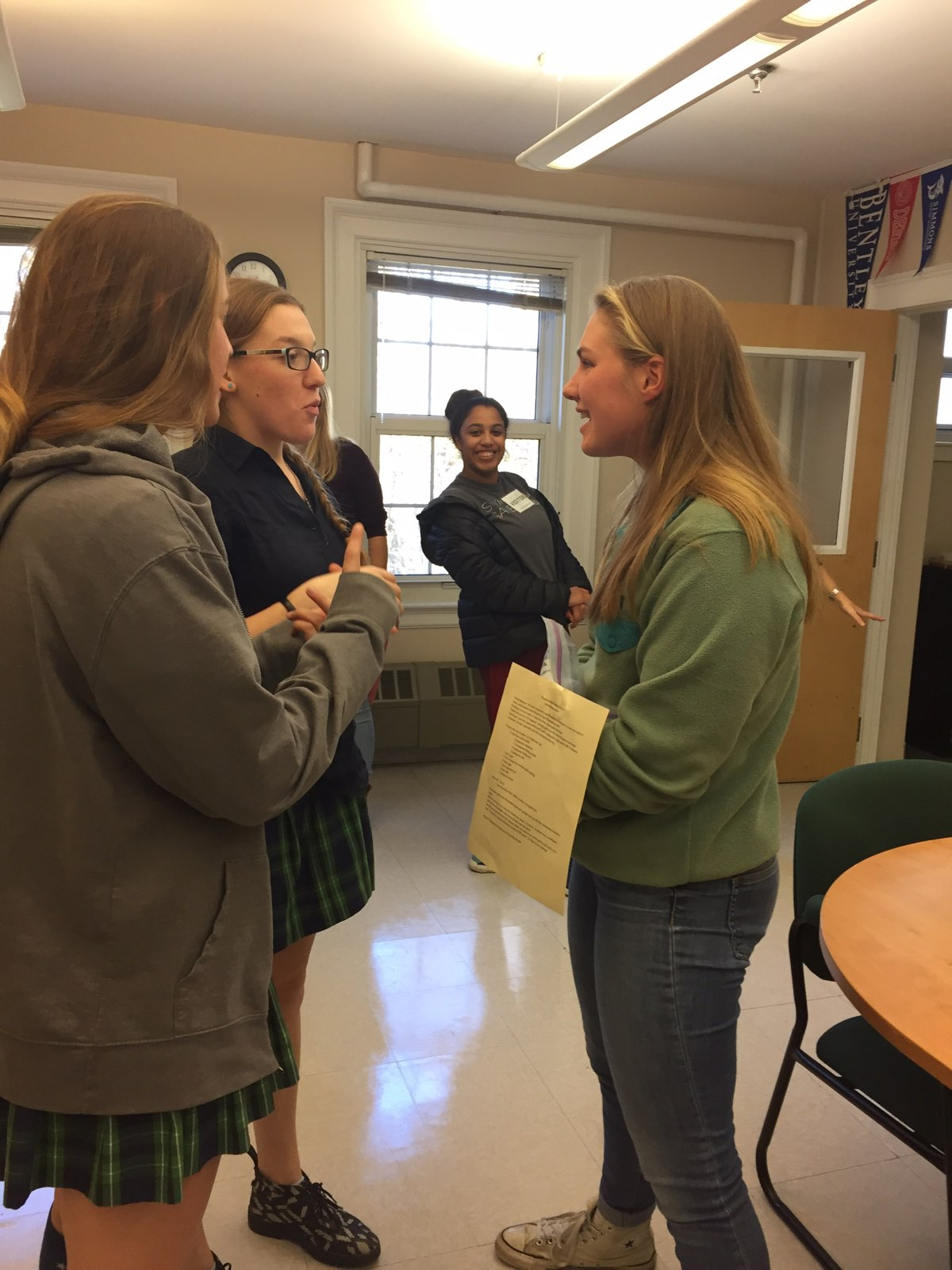 Friendship Rising: Breaking Bread and Coming Back to Campus