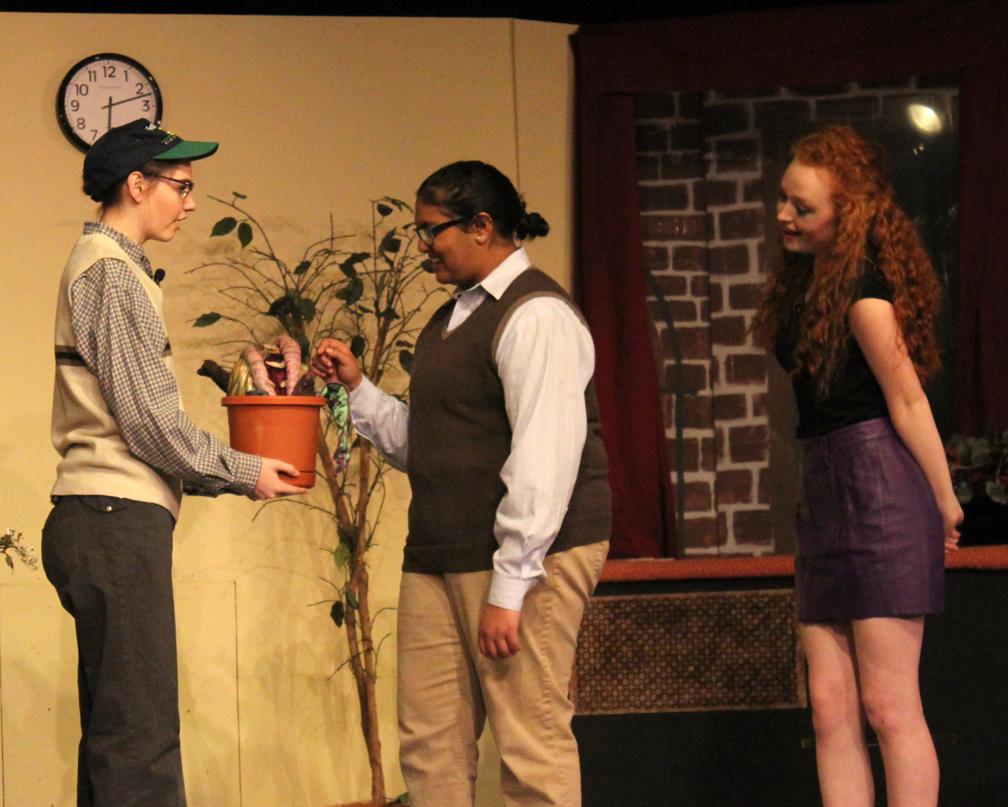 Feed Me, Seymour: Lincoln School's Fantastic Little Shop of Horrors