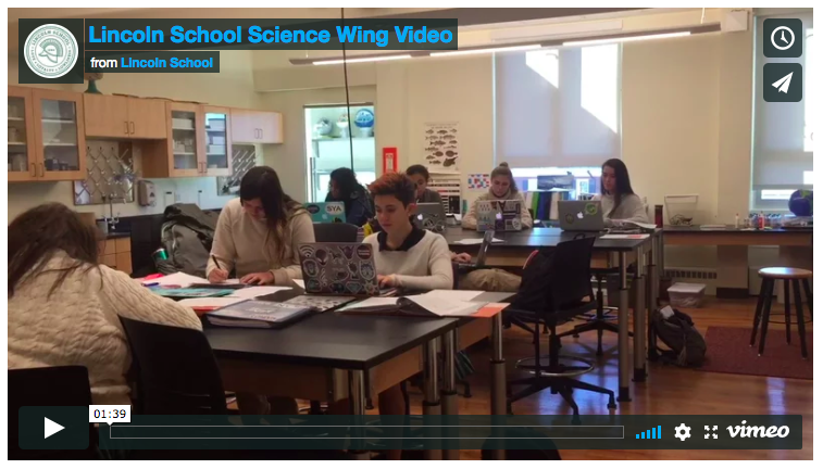 Take a Tour of the Newly Renovated Science Wing!