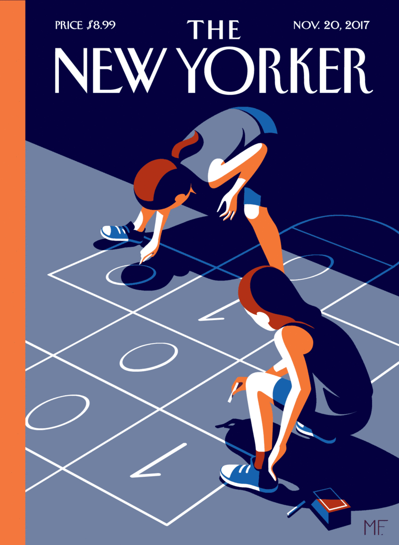Only in New Yorker: Coding 101 Cover
