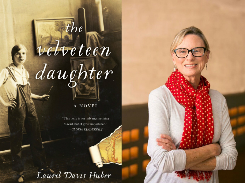 Her-story in the Making: Laurel Davis Huber '69 Writes Award-Winning Debut Novel