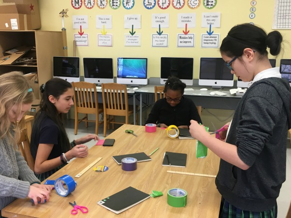 Material Girls: MakerSpace Duct Tape Design Challenge