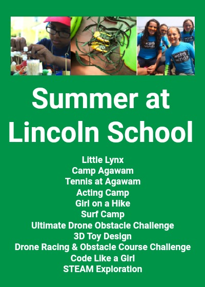 Sign Up for Summer at Lincoln School!