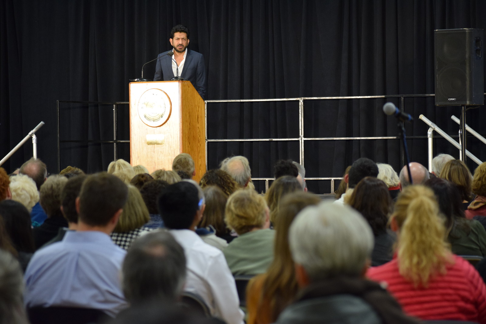 Expert Opinion: Author and Doctor Siddhartha Mukherjee, MD Spoke to a Crowd of 600+