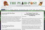 Plaid Post