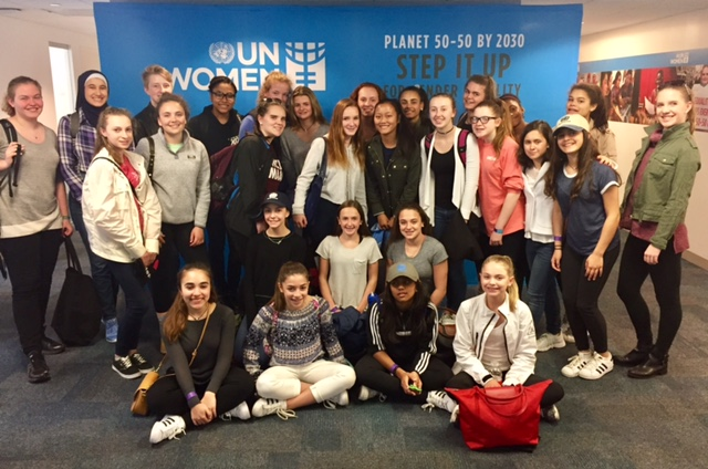 New York Times: Three-Day Grade 8 Program to the United Nations