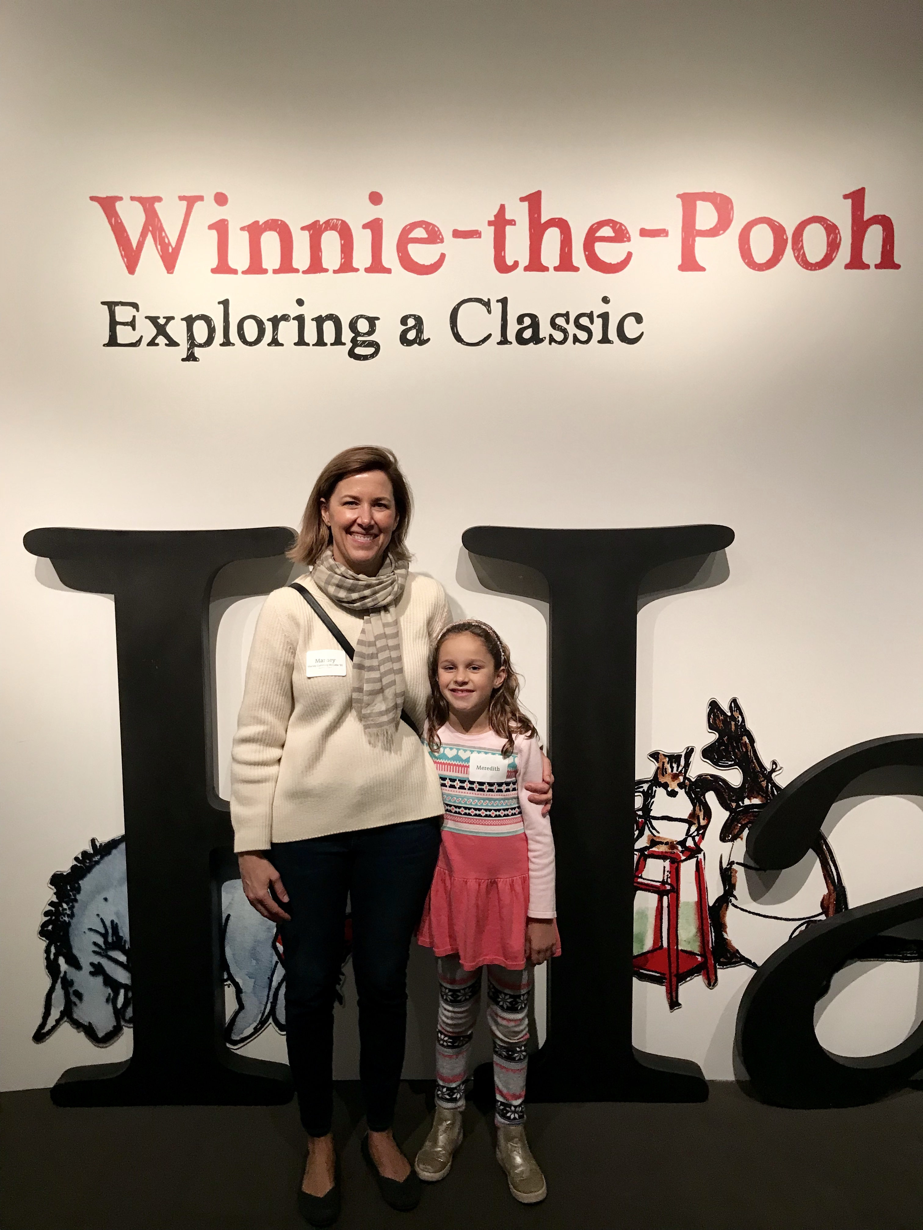 A Mommy-Daughter Date to the Hundred Acre Wood: Lincoln's MFA Alumnae Event