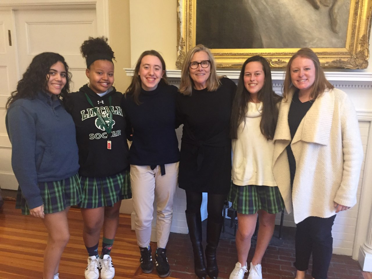 Report Back: Lincoln's Plaid Post Interviews Meredith Vieira '71